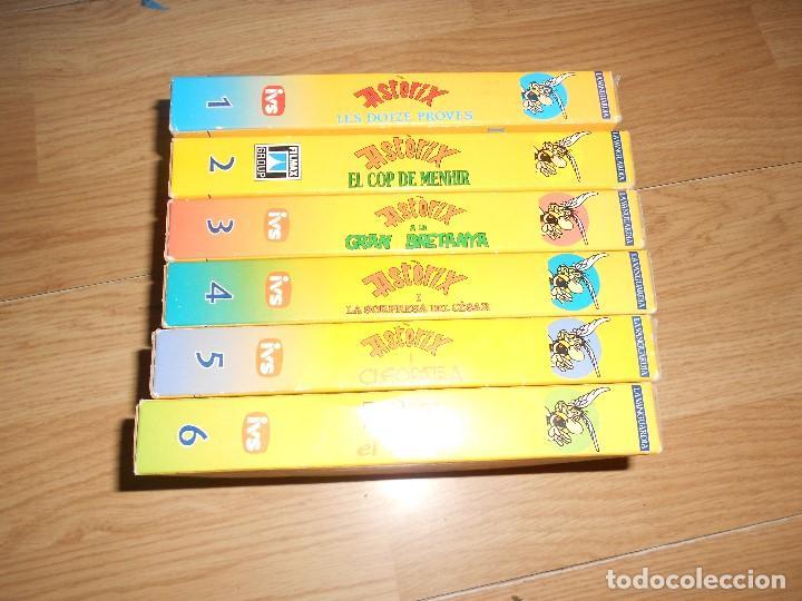 Series de TV: LOTE 6 VHS - ASTERIX - LES DOTZE PROVES - COP DE MENHIR - GRAN BRETANYA - CESAR - CLEOPATRA - EL GAL - Foto 2 - 205526896