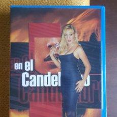Series de TV: CHRISTINA RAPADO / EN EL CANDELABRO (VHS). Lote 205895205