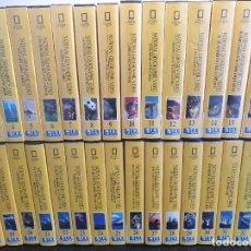 Series de TV: 2 COLECCIONES DE DOCUMENTALES NATIONAL GEOGRAPHIC. 71 VHS. CASI COMPLETAS (ENVÍO 5,43€). Lote 208014037