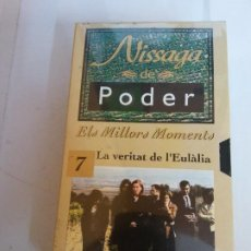 Series de TV: NISSAGA DE PODER. ELS MILLORS MOMENTS. 7 LA VERITAT DE E'EULALIA.. Lote 208226326