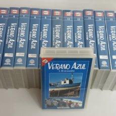 Series de TV: VERANO AZUL COLECCION COMPLETA EN 19 VHS. Lote 208314017