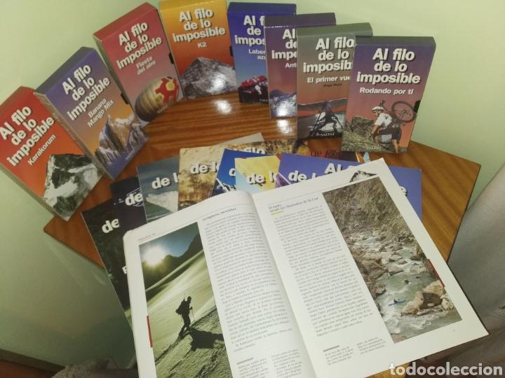 COLECCIÓN AL FILO DE LO IMPOSIBLE (TVE) (Series TV en VHS )