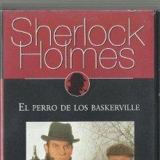 Series de TV: SHERLOCK HOLMES: EL PERRO DE LOS BASKERVILLE. Lote 209658311