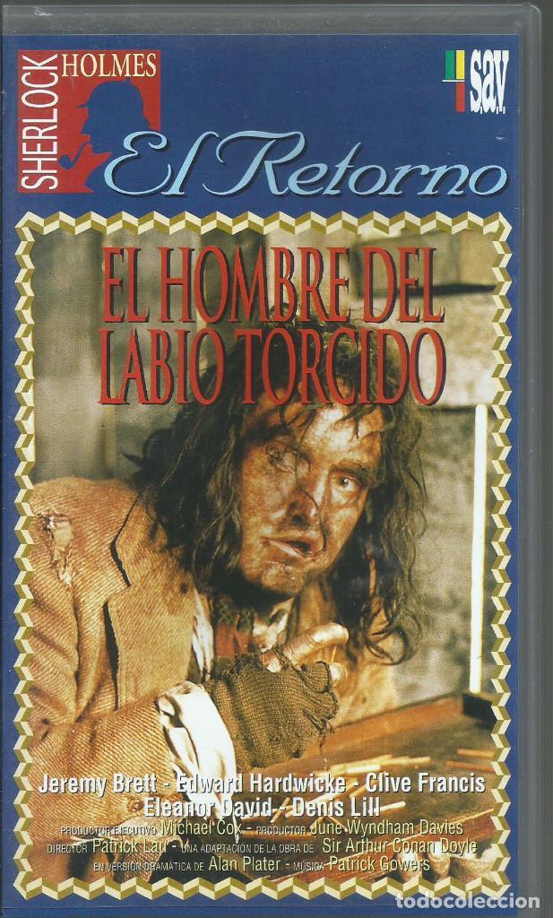 EL RETORNO DE SHERLOCK HOLMES: EL HOMBRE DEL LABIO TORCIDO (Series TV en VHS )