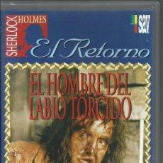 Series de TV: EL RETORNO DE SHERLOCK HOLMES: EL HOMBRE DEL LABIO TORCIDO. Lote 209658485
