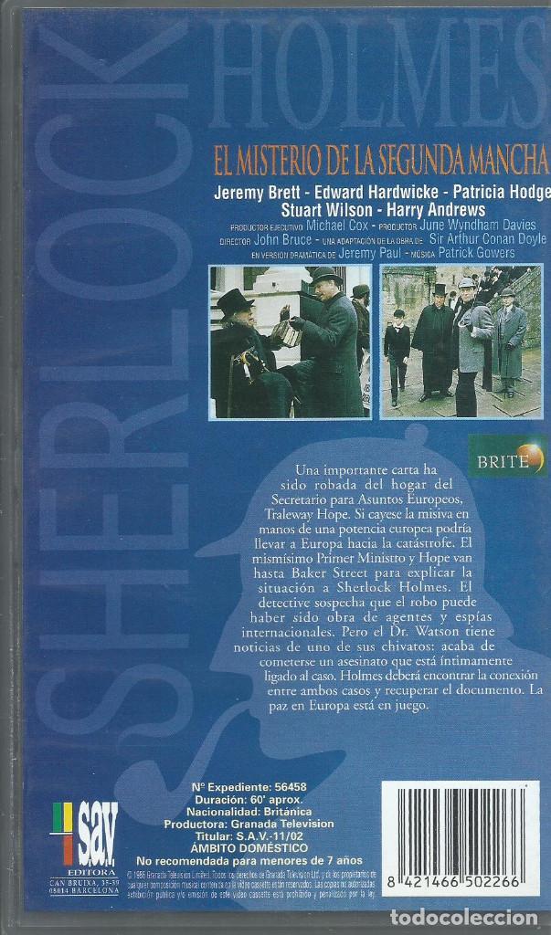 Series de TV: El Retorno de Sherlock Holmes: El misterio de la segunda mancha - Foto 2 - 209658586