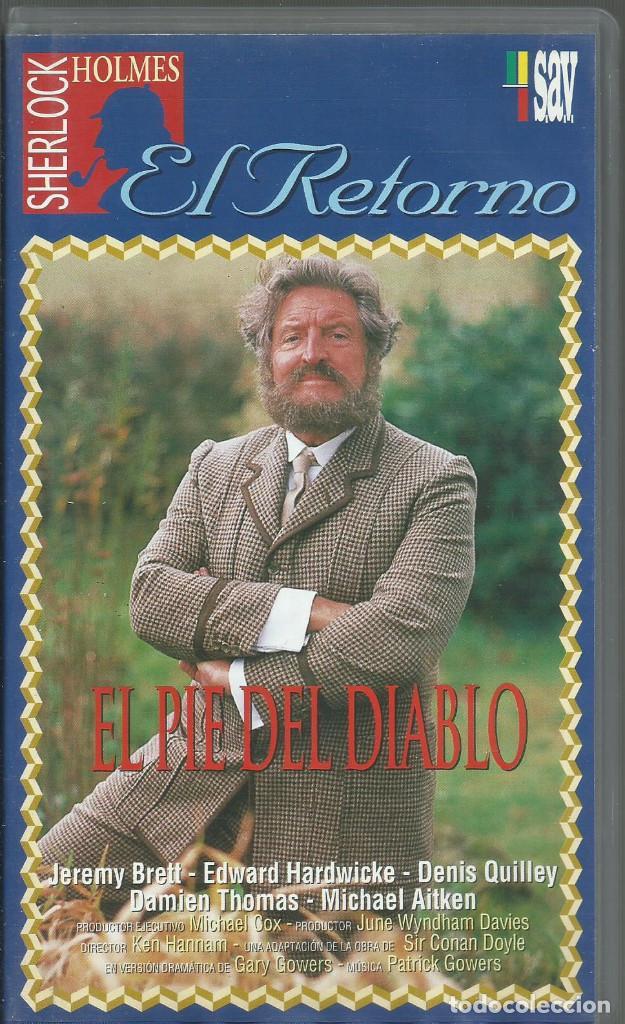 EL RETORNO DE SHERLOCK HOLMES: EL PIE DEL DIABLO (Series TV en VHS )