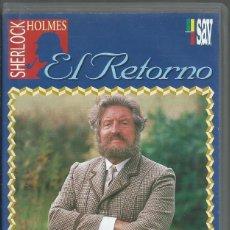 Series de TV: EL RETORNO DE SHERLOCK HOLMES: EL PIE DEL DIABLO. Lote 209658686