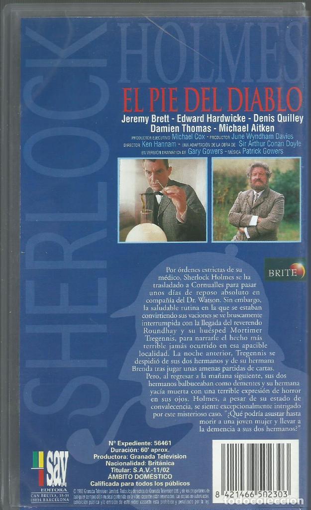 Series de TV: El Retorno de Sherlock Holmes: El Pie del Diablo - Foto 2 - 209658686