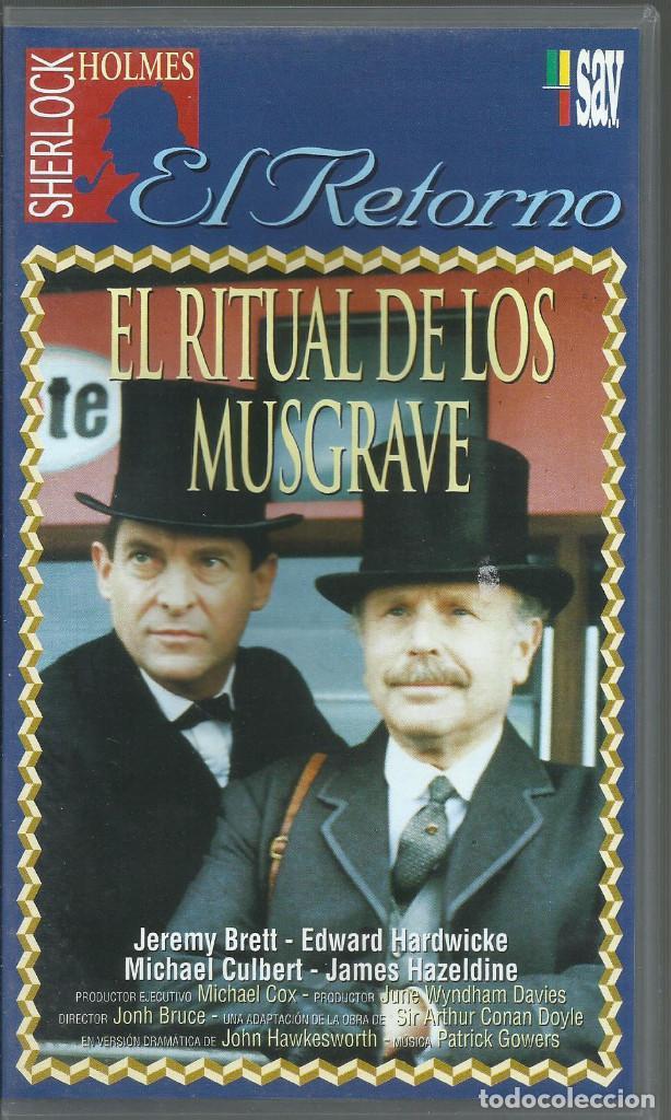 EL RETORNO DE SHERLOCK HOLMES: EL RITUAL DE LO MUSGRAVE (Series TV en VHS )