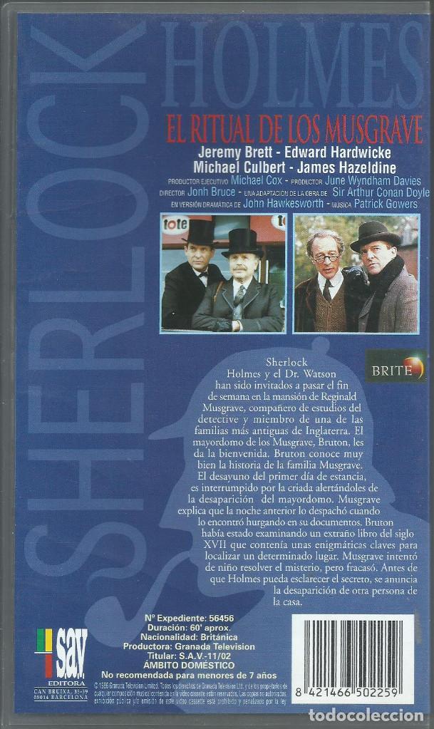 Series de TV: El Retorno de Sherlock Holmes: El ritual de lo Musgrave - Foto 2 - 209658797