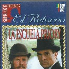 Series de TV: EL RETORNO DE SHERLOCK HOLMES: LA ESCUELA DE PRIORY. Lote 209658990