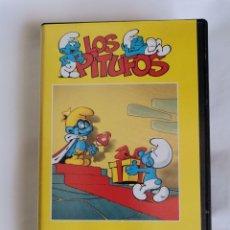 Series de TV: LOS PITUFOS VHS EL REY PITUFO. Lote 209690210