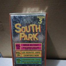 Series de TV: SOUTH PARK VHS SAISON 3 19-21. Lote 209721182