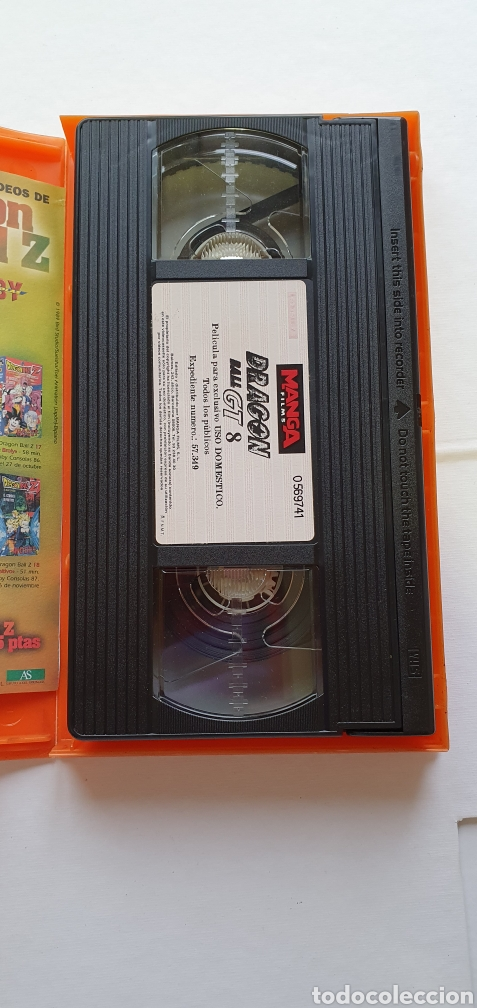 Series de TV: VIDEO DRAGON BALL GT 8 PRIMERA EPOCA -VHS DRAGON BALL EPISODIOS 22, 23 ,24 PELICULA MANGA - Foto 3 - 211599811