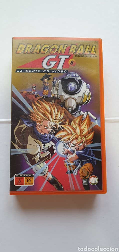 Series de TV: VIDEO DRAGON BALL GT 8 PRIMERA EPOCA -VHS DRAGON BALL EPISODIOS 22, 23 ,24 PELICULA MANGA - Foto 1 - 211599811