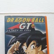 Series de TV: VIDEO DRAGON BALL GT 10 PRIMERA EPOCA -VHS DRAGON BALL EPISODIOS 28, 29 , 30 PELICULA MANGA. Lote 211600407
