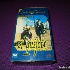 Series de TV: EL QUIJOTE DE MIGUEL DE CERVANTES - 3 VHS - DIVISA - SERIES CLASICAS TVE - CAMILO JOSE CELA. Lote 212163907
