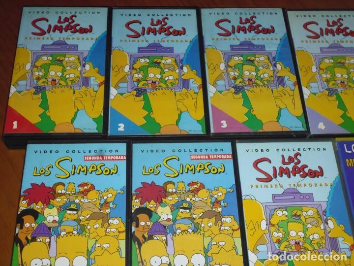 Series de TV: LOTE DE VIDEOS DE LOS SIMPSON / SIMPSONS - 9 VHS - Foto 2 - 213309162