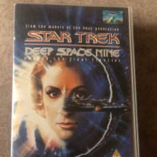 Series de TV: VHS STAR TREK DEEP SPACE NINE 1X03-1X04 - PAST PROLOGUE - A MAN ALONE VERSIÓN ORIGINAL INGLESA. Lote 214124145