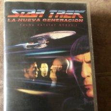 Series de TV: VHS STAR TREK LA NUEVA GENERACIÓN EPISODIO DOBLE UNIFICACIÓN. Lote 214126878