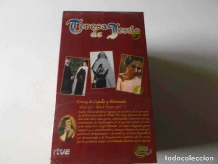 Series de TV: SERIES CLASICAS: TERESA DE JESUS. VHS-991, SIN USAR PRECINTADA - Foto 3 - 214607862