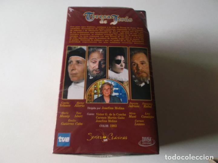 Series de TV: SERIES CLASICAS: TERESA DE JESUS. VHS-991, SIN USAR PRECINTADA - Foto 4 - 214607862