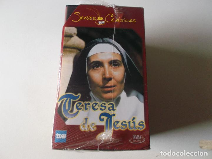 SERIES CLASICAS: TERESA DE JESUS. VHS-991, SIN USAR PRECINTADA (Series TV en VHS )
