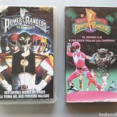 Series de TV: LOTE 3 VHS POWER RANGERS Y BOLA DE DRAGON LA PELICULA. Lote 208190453