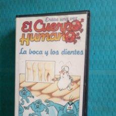 Series de TV: VHS ERASE UNA VEZ EL CUERPO HUMANO NUM 16 LA BOCA Y LOS DIENTES PLANETA DEAGOSTINI. Lote 217768937