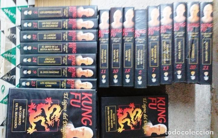 KUNG FU EL PEQUEÑO SALTAMONTES (Series TV en VHS )