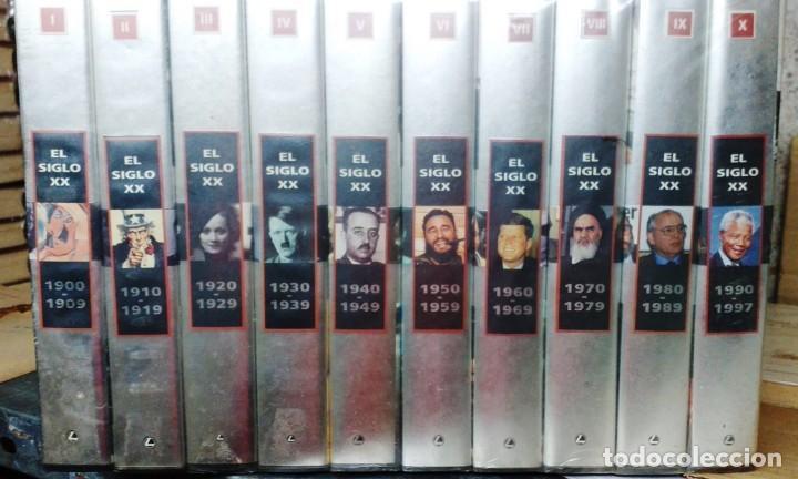 HISTORIA DEL SIGLO XX EN VHS (Series TV en VHS )
