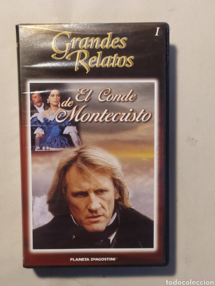 Series de TV: El conde de Montecristo. Serie completa en VHS - Foto 2 - 218239792