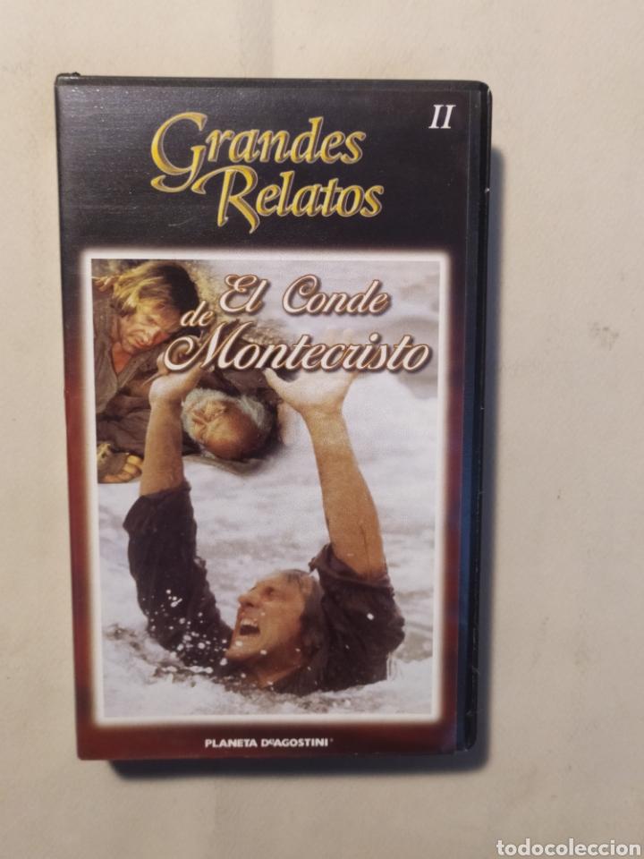 Series de TV: El conde de Montecristo. Serie completa en VHS - Foto 3 - 218239792