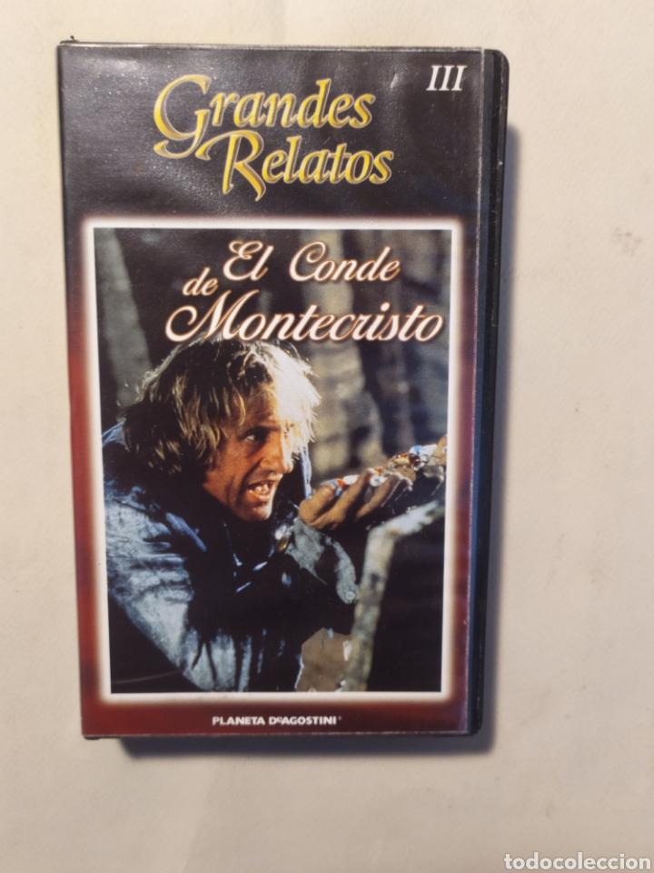 Series de TV: El conde de Montecristo. Serie completa en VHS - Foto 4 - 218239792