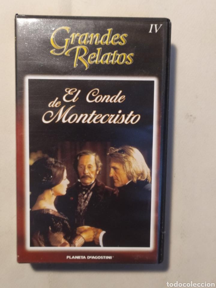 Series de TV: El conde de Montecristo. Serie completa en VHS - Foto 5 - 218239792