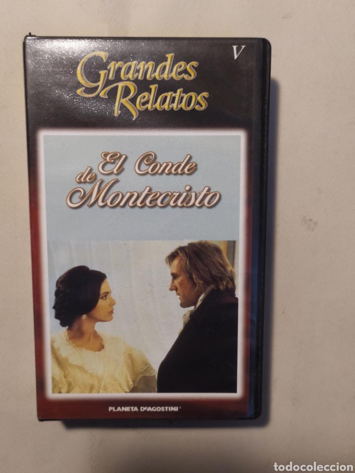 Series de TV: El conde de Montecristo. Serie completa en VHS - Foto 6 - 218239792