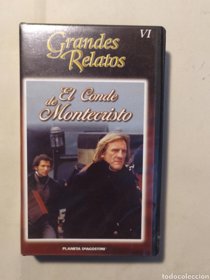Series de TV: El conde de Montecristo. Serie completa en VHS - Foto 7 - 218239792