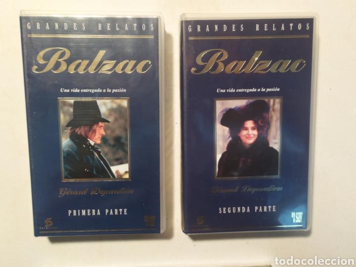 Series de TV: Balzac. Grandes relatos. VHS - Foto 2 - 218241688