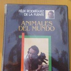 Series de TV: ANIMALES DEL MUNDO FELIX RODRIGUEZ DE LA FUENTE VHS ORIGINALES. Lote 218730867