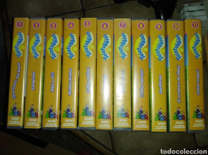 CINTA VHS ( TELETUBBIES 11 VOLUMENES) (Series TV en VHS )