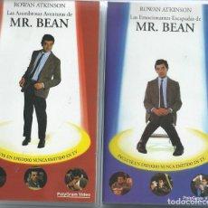 Series de TV: MR. BEAN LOTE 5 VHS ALGUNO CON EPISODIOS NO EMITIDOS EN TV. Lote 219308218
