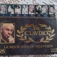 Series de TV: YO CLAUDIO, 8 CINTAS VHS CON CAJA EN MUY BUEN ESTADO SERIE DE TV.. Lote 219611958