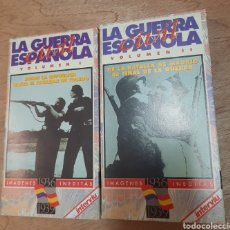 Series de TV: LA GUERRA CIVIL ESPAÑOLA. VOL.I Y II. VHS. Lote 219677445