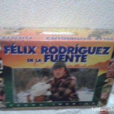 Series de TV: EL HOMBRE Y LA TIERRA. FAUNA IBÉRICA. NUEVO Y PRECINTADO. 18 VHS.. Lote 220261222