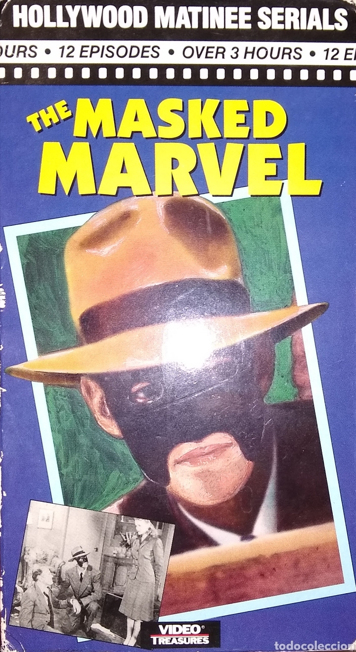 THE MASKED MARVEL SERIE DE TV DE 1943 - 2 VHS (Series TV en VHS )