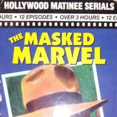 Series de TV: THE MASKED MARVEL SERIE DE TV DE 1943 - 2 VHS. Lote 220999935