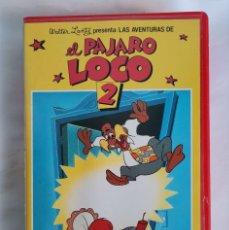 Series de TV: LAS AVENTURAS DEL PÁJARO LOCO 2 VHS. Lote 221588360