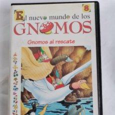 Series de TV: EL NUEVO MUNDO DE LOS GNOMOS 8 VHS. Lote 221965003