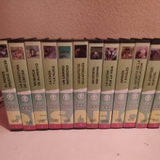 Series de TV: DESAFÍOS DE LA VIDA, 8 LIBROS Y 37 VHS. Lote 224187373